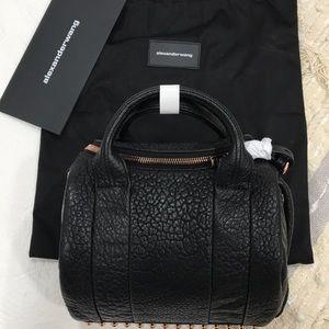 NWT AUTH. Alexander Wang Rockie Pebble satchel bag
